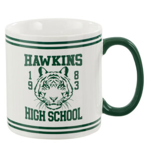 Stranger Things (Hawkins High School) Tasse - Grün
