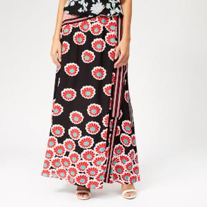 Diane von Furstenberg Women's Taylor Skirt - Kimono Blossom Black/Multi