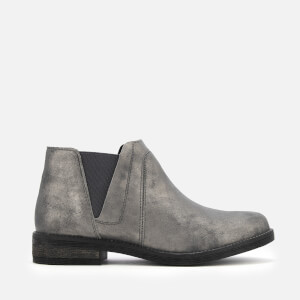 Clarks Women's Demi Beat Suede Ankle Boots - Dark Grey