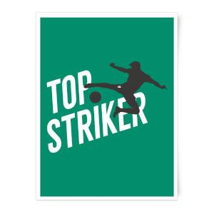Top Striker Art Print