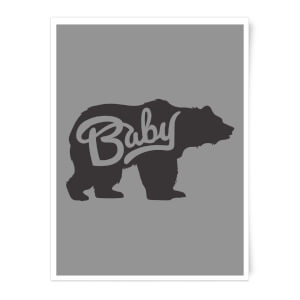 Baby Bear Art Print