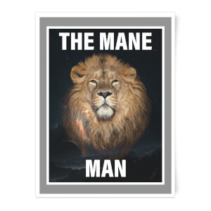 The Mane Man Art Print
