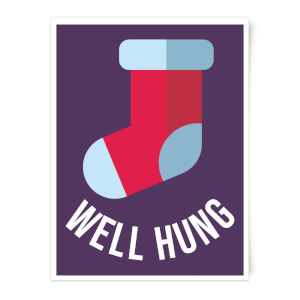 Well Hung Art Print