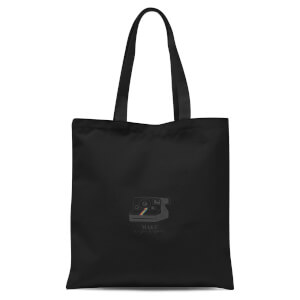 Make Magic Happen Tote Bag - Black