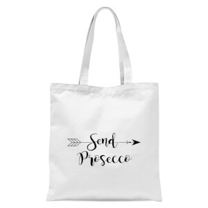Send Prosecco Tote Bag - White
