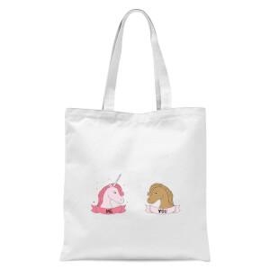Im A Unicorn Tote Bag - White