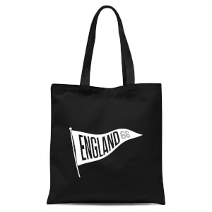 England Pennant Tote Bag - Black