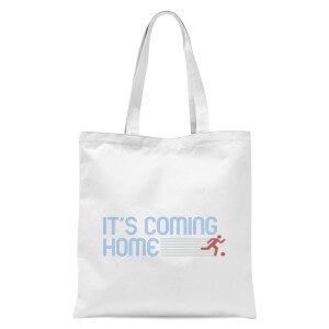 Its Coming Home Sprint Tote Bag - White