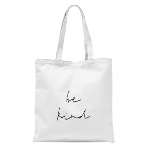 Be Kind Tote Bag - White