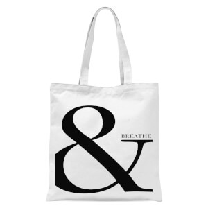 & Breathe Tote Bag - White