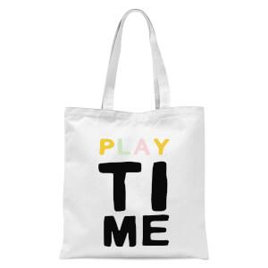 Playtime Tote Bag - White