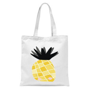 Pineapple Tote Bag - White