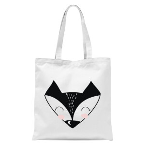 Fox Tote Bag - White