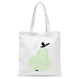 Pears Tote Bag - White