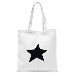 Star Tote Bag - White