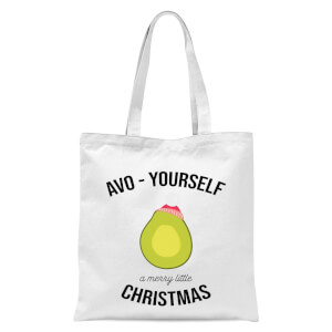 Avo-Yourself A Merry Little Christmas Tote Bag - White