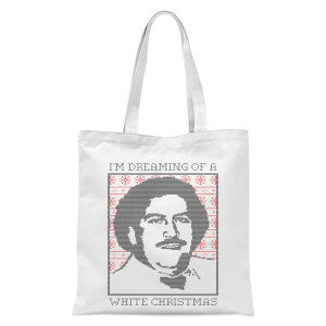 Im Dreaming Of A White Christmas Tote Bag - White