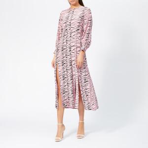 RIXO Women's Emma Tiger Dress - Pink