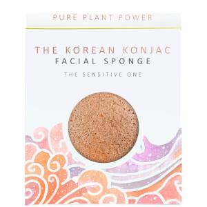 Esponja facial The Elements Air de The Konjac Sponge Company - Camomila calmante/Arcilla rosa 30g