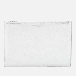 Aspinal of London Women's Essential Pouch Large - Silver Shooting Star