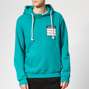 Maison Margiela Men's Stereotype Hoody - Emerald