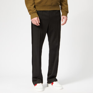 Maison Margiela Men's Polyester Rodier Trousers - Black