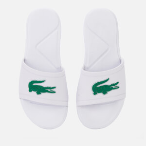 7e34dcaab38e Lacoste Kids  L.30 Slide 119 2 Sandals - White Green