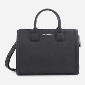 Karl Lagerfeld Women's K/Klassik Tote Bag - Black/Gold