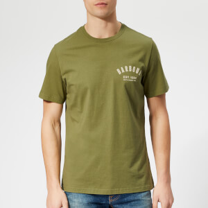 Barbour Men's Preppy T-Shirt - Burnt Olive