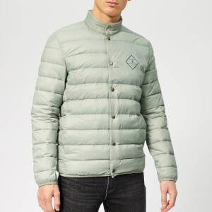 Barbour Beacon Men's Sergeant Quilt Jacket - Smoke
