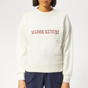 Maison Kitsuné Women's Sweatshirt - Ecru