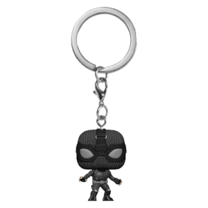 Llavero Funko Pop! - Spider-Man Traje Stealth - Marvel Spider-Man (NYTF)