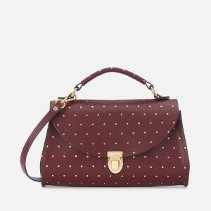 The Cambridge Satchel Company Women's Mini Poppy Bag - Gold Dot Oxblood