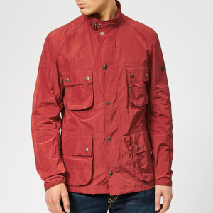 Barbour International Men's Weir Casual Jacket - Biking Red