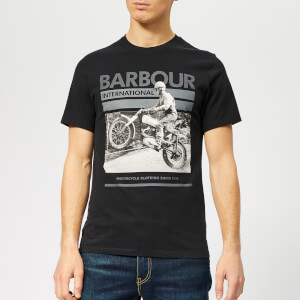 Barbour International Men's Archive T-Shirt - Black