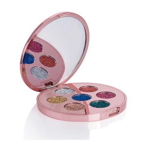 Contour Cosmetics プレスト グリッター パレット 7 x 1.1g