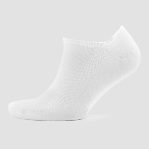 Women's Ankle Socks - White