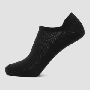 MP Essentials Women's Ankle Socks - Black (3 Pack)