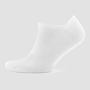 Men's Ankle Socks - White