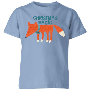 Christmas Magic Kids' T-Shirt - Sky Blue