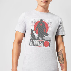 Valiant Bloodshot Men's Holiday T-Shirt - Grey