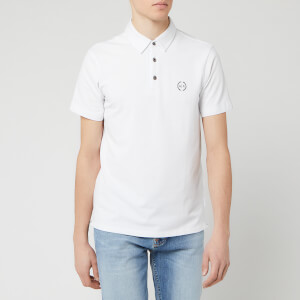 Armani Exchange Men's Basic Polo Shirt - White
