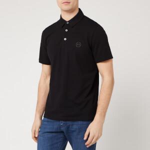 Armani Exchange Men's Basic Polo Shirt - Black