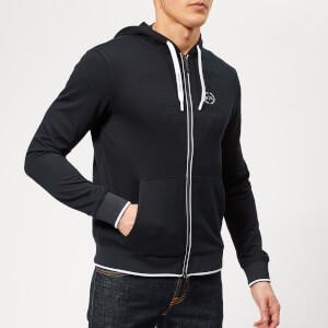 Armani Exchange Men's Zipped Hoodie - Navy