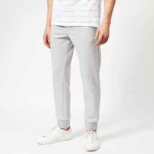 Armani Exchange Men's Small Logo Sweat Pants - Heather Grey