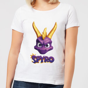 Spyro Face Women's T-Shirt - White