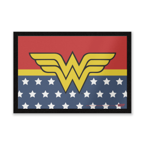 DC Comics Wonder Woman Logo Entrance Mat