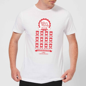 National Lampoon Jelly Of The Month Club Men's Christmas T-Shirt - White