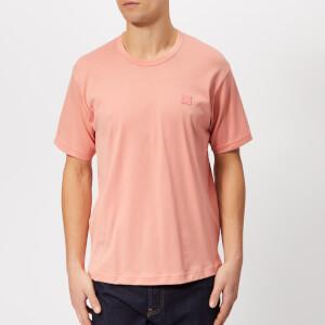 Acne Studios Men's Nash Face T-Shirt - Pale Pink