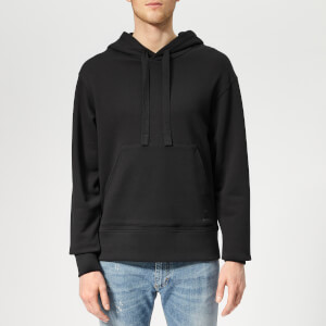 Acne Studios Men's Fellis Logo Hoodie - Black